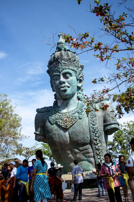 Wisnu is one of the characters in Hindu mythology.