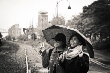 Rainy Montreal